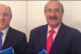 Carlos Romero y Rafael Ortega, responsables del Católicos y Vida Pública