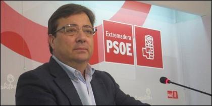 Guillermo Fernández Vara, Secretario General del PSOE extremeño.
