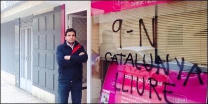 Sede de UPyD en Badajoz.