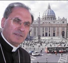 Morga, en el Vaticano