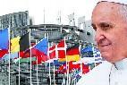 El Papa, a Estrasburgo