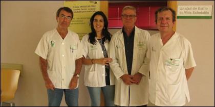 Trabajadores del Centro de Salud Valdepasillas.