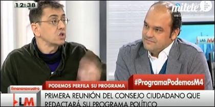 Monedero y José Carlos Díez.