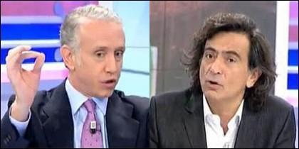 Eduardo Inda y Arcadi Espada.