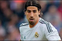 El actual jugador del Real Madrid, Sami Khedira.