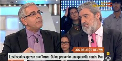 Toni Bolaño y Miguel Ángel Rodríguez.