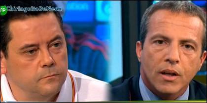 Tomás Roncero y Cristóbal Soria.