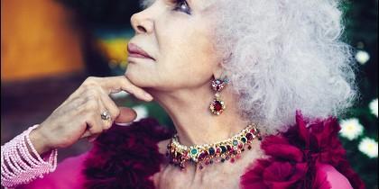 Un retrato de Cayetana, Duquesa de Alba.