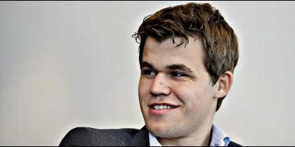 El noruego Carlsen, campeón del mundo de ajedrez.