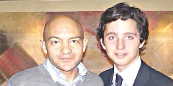 Jaime García Legaz con el 'Pequeño' Nicolás.