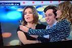 Mariló Montero, sandra Barneda y el 'Pequeño' Nicolás se hacen un selfie.
