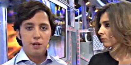 El 'Pequeño' Nicolás con Barneda en 'Un Tiempo Nuevo'.