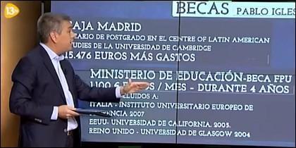Luis Balcarce en 'La Marimorena'. 23-11-2014