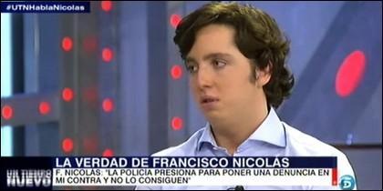 'Pequeño' Nicolás.