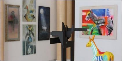 Exposición sobre Platero en Moguer (Huelva)