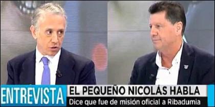 Eduardo Inda y Alfonso Rojo.