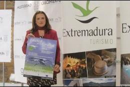 Anuncio del Festival de las Grullas en Extremadura.