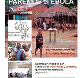 Paremos el ébola