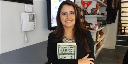 Sofía Macias en la redacción de PD.