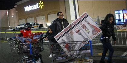 Compras a destajo en el 'Black Friday'