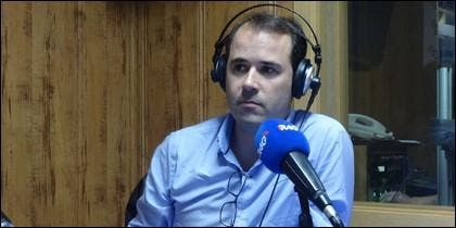 Javier Chicote, periodista de ABC.