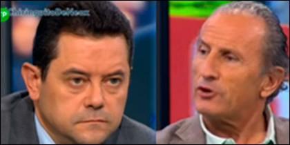 Tomás Roncero y José Antonio Martín Petón.