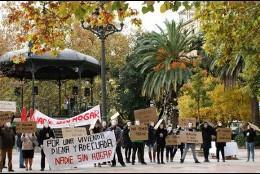 Manifestación de Cáritas en Cáceres.
