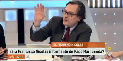 Francisco Marhuenda en Espejo Público.