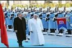 El Papa y Erdogan en Ankara