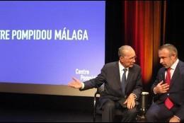 Presentación del Centro Pompidou en Málaga.