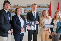 Entrega del premio 'Mejor Destino Turístico Accesible'.