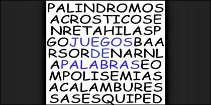 Juegos de palabras, crucigramas y otros pasatiempos.