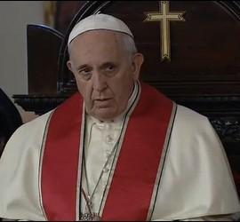 El Papa, en misa ortodoxa