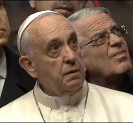 Lombardi al lado del Papa en Santa Sofía