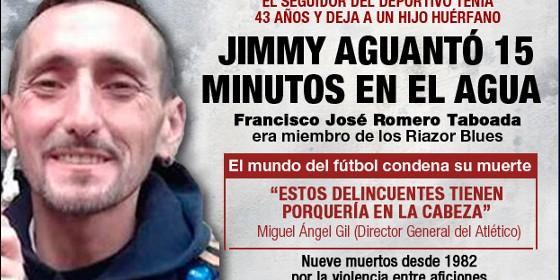 """Los Riazor Blues piden poder despedir al hincha del Deportivo """"en la intimidad"""" - francisco-javier-romero-taboada-alias-jimmy-el-ultra-del-deportivo-de-la-coruna_560x280"""