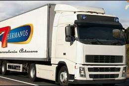 Camión de Cárnicas 7 Hermanos.