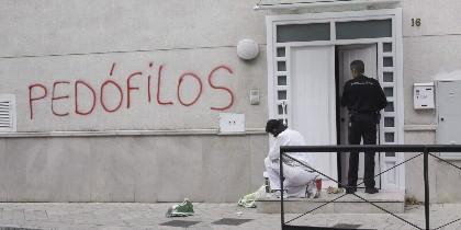 Pintadas contra los abusos en Granada