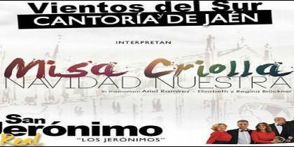 Misa criolla en San Jerónimo