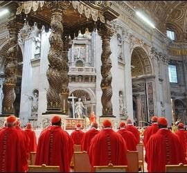 El colegio cardenalicio