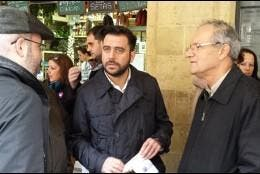 El candidato socialista a la Alcaldía de Cádiz, Fran González