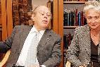 El ex presidente de la Generalidad y fundador de CDC y CiU, Jordi Pujol, y su mujer, Marta Ferrusola.