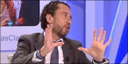Federico Quevedo en 'Más Claro Agua' de 13TV.