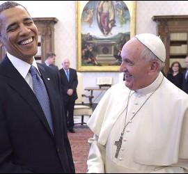 Francisco, con Obama