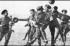Partido de fútbol soldados, diciembre de 1914