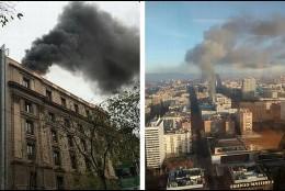 Imagen izquierda, Fiscalía de Cataluña; Imagen derecha, Ministerio de Defensa.