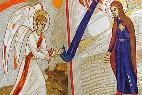 Anuncio del ángel a la Virgen