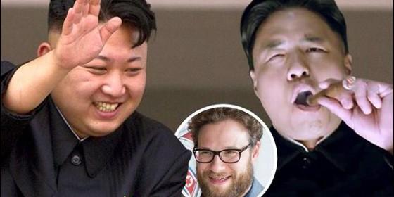 Kim Jong, parodiado en 'La Entrevista', película que dirige y protagoniza el actor Seth Rogen.