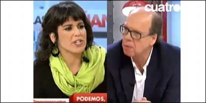 Teresa Rodríguez y Jaime González.