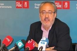 Guillermo Meijón, coordinador de los socialistas gallegos.
