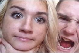 Nikki Guined y su novio